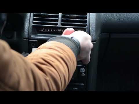 Аварийная кнопка ВАЗ 2110, ЛАДА 110. Установка, замена