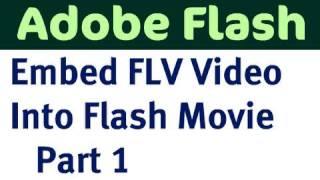 getlinkyoutube.com-Embed FLV video into Flash Movie - Part 1
