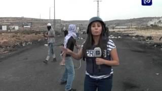 getlinkyoutube.com-اصابة مراسلة رؤيا في فلسطين لإصابة مباشرة بالرصاص الحي المغلف بالمطاط