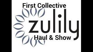 getlinkyoutube.com-«120» My First Collective Zulily Haul & Show