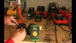 getlinkyoutube.com-Repair/Revive/Recondition cordless tool batteries