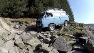 VW T3 T25 Vanagon Syncro Strata Florida Greenlane 4x4 Weekend