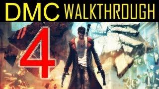 "DMC walkthrough - part 4 Devil may cry walkthrough part 4 PS3 XBOX PC HD 2013 ""DMC walkthrough part 1"""