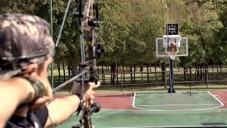 getlinkyoutube.com-Archery Trick Shots | Dude Perfect