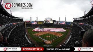 White Sox Opening Day 2016 National Anthem Ceremony