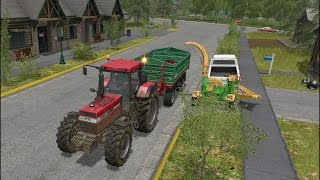 getlinkyoutube.com-Farming Simulator 17 - Forestry and Farming on Goldcrest Valley 001