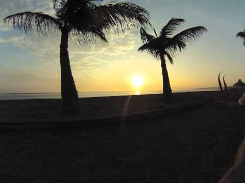 Huanchaco sunset time lapse