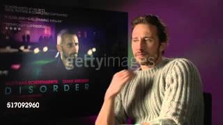 getlinkyoutube.com-Matthias Schoenaerts talks about 'Disorder/Maryland', PTSD, war veterans and James Bond