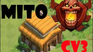 getlinkyoutube.com-CLASH OF CLANS- CV3 NA LIGA CAMPEAO NO LAYOUT