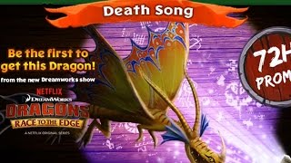 getlinkyoutube.com-Dragons: Rise of Berk News - LIMITED DEATHSONG AVAILABLE