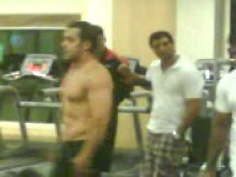 Salman Khan's Unseen Body Building Video During Veer