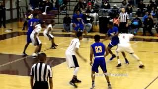 getlinkyoutube.com-Oscar Smith v Lake Taylor recruit757/Basketball