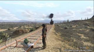 getlinkyoutube.com-Red Dead Redemption: Women, Lasso and Trains.
