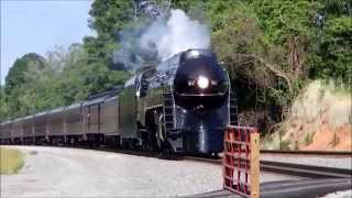 getlinkyoutube.com-N&W 611- Rails Headin' Home