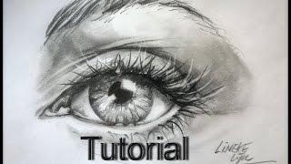 getlinkyoutube.com-How to draw a Hyper Realistic Eye