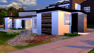 getlinkyoutube.com-The Sims 4 Modern House (Casa Moderna ITA) #2