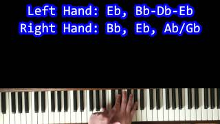 How To Play: Cold as Ice (Foreigner) on Piano