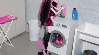 getlinkyoutube.com-Como fazer máquina de lavar para boneca Monster High, Barbie, etc