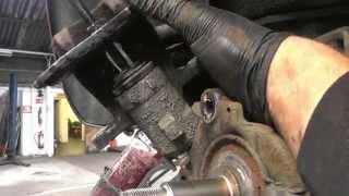 getlinkyoutube.com-Renault Megan Parking Brake Repair Part 2