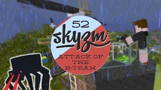 getlinkyoutube.com-Attack of the B Team 52 - Minecraft Mods - Helicopter Hijack!