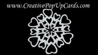 getlinkyoutube.com-Heart Shaped Paper Snowflake