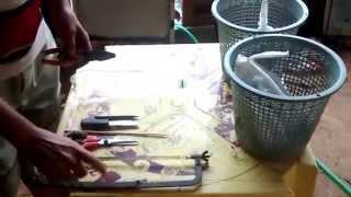 getlinkyoutube.com-como fazer covo armadilha  para pegar  peixe em 3 minutos com 5 reais