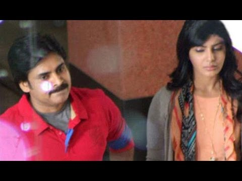 Pawan Kalyan Samantha Sarada Movie Latest Working Stills