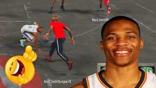 getlinkyoutube.com-NBA 2K16 MY PARK - Russell Westbrook Gets Ankles Broke 3 TIMES!!! OMFG