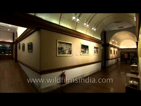 Kitchen museum and picture gallery of Rashtrapati Bhavan