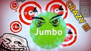getlinkyoutube.com-INTENSE AGARIO GAMEPLAY (Solo Agar.io Gameplay )