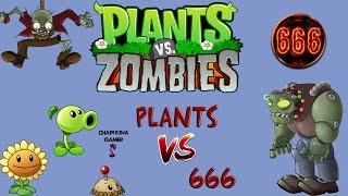 Creepypasta - Plants vs zombies plants vs 666