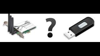 Адаптер Wi-Fi USB или PCI