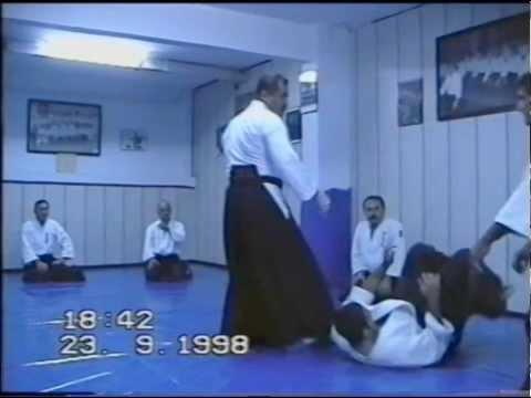 Aikido Teknikleri Kenji Kumagai ve Halit Vatansever 1998