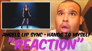 "getlinkyoutube.com-Victoria's Secret Angels Lip Sync ""Hands to Myself"" [REACTION]"