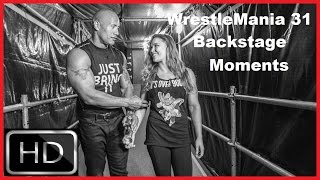 getlinkyoutube.com-Best WrestleMania 31 Backstage Moments