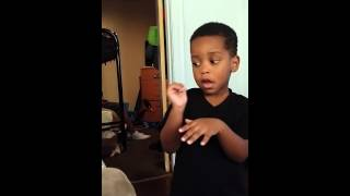 getlinkyoutube.com-Lil Boy talks his way out of a butt whooping