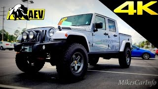 getlinkyoutube.com-Jeep Truck AEV Brute Double Cab - Quick Look in 4K