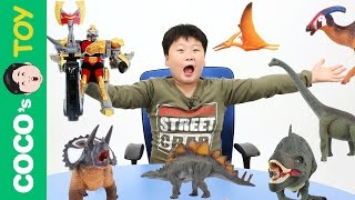 #40 공룡과 공룡로봇이 싸우면 과연 누가 이길까?! 꼬꼬스토이 Dinosaurs vs Dinosaurs robot, CollectaㅣCoCosToy