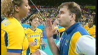 getlinkyoutube.com-Olimpíada de Sydney 2000 - Brasil x EUA - Vôlei Feminino