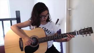 getlinkyoutube.com-One Call Away ~ Charlie Puth ~ Fingerstyle Guitar ~ Arr. Eva Weber