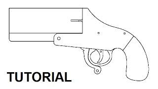 getlinkyoutube.com-Tutorial — rubber band flare gun