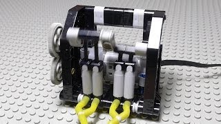 getlinkyoutube.com-LEGO Pneumatic Motorized Compressor with Building Instructions