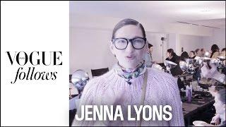 Style lesson with Jenna Lyons, creative director of J Crew  | #VogueFollows | VOGUE PARIS
