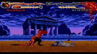 getlinkyoutube.com-Sega Genesis Primal Rage Fatalities