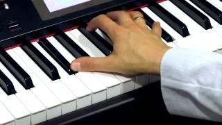 getlinkyoutube.com-Sonata księżycowa - L. van Beethoven - jak zagrać na pianinie bez znajomości nut