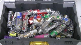 getlinkyoutube.com-파워레인저 다이노포스 다이노셀 장난감 Power Rangers Dino Charge Battery Toys