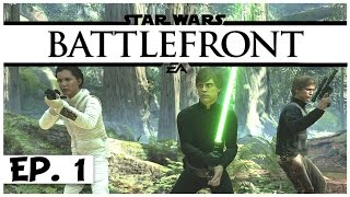 Star Wars Battlefront Launch - Ep. 1 - Heroes vs. Villans! - Let's Play - [Sponsored]