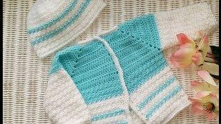 "getlinkyoutube.com-Pt. 2 ""Precious Baby Cardigan Sweater"""
