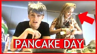 COOKING WITH MADDIE FOR PANCAKE DAY