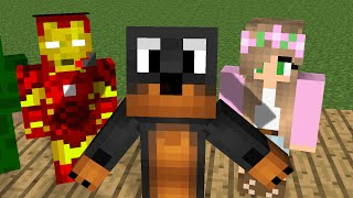 getlinkyoutube.com-Minecraft: Standing up school #3 PopularMMOS, The Mnevengers, Little Kelly, Donut The Dog, Animation